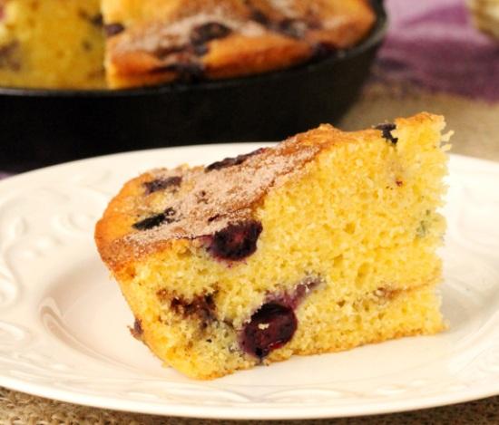 пирог с черникой рецепт