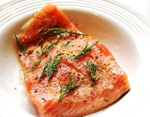 лосось запеченный в духовке