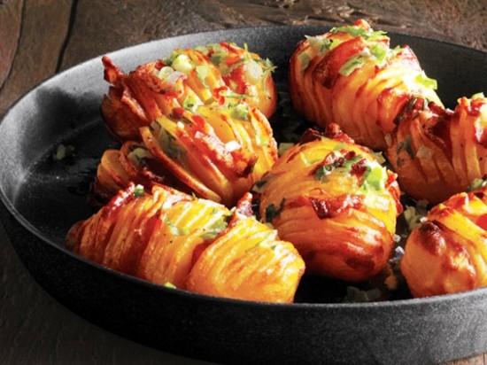 рецепт картошки с беконом и с сыром в духовке