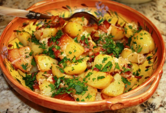 рецепт запеченной картошки с морковкой в духовке рецепт