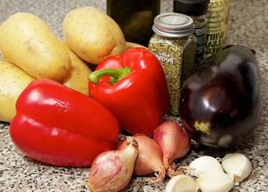 овощи запеченные в духовке