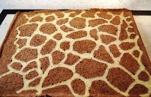 рулет жираф