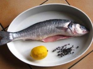 окунь запеченный в духовке