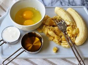 банановый кекс рецепт