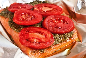 лосось запеченный в духовке рецепт