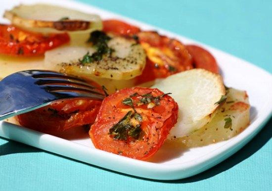 рецепт картофеля отварного в духовке