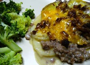 блюда из мяса и картошки в духовке