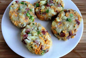 картофельные котлеты в духовке