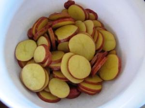 картошка запеченная в духовке в фольге