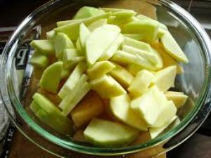 простой яблочный пирог рецепт