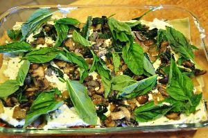 лазанья вегетарианская