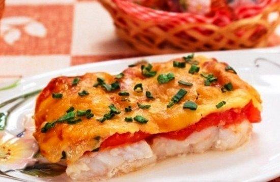 рецепт приготовления рыбы в духовке
