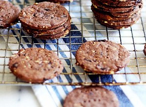 шоколадное печенье рецепт