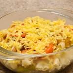 макаронная запеканка в духовке