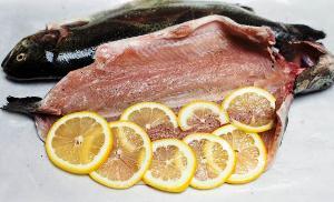 Фаршируем рыбу лимоном