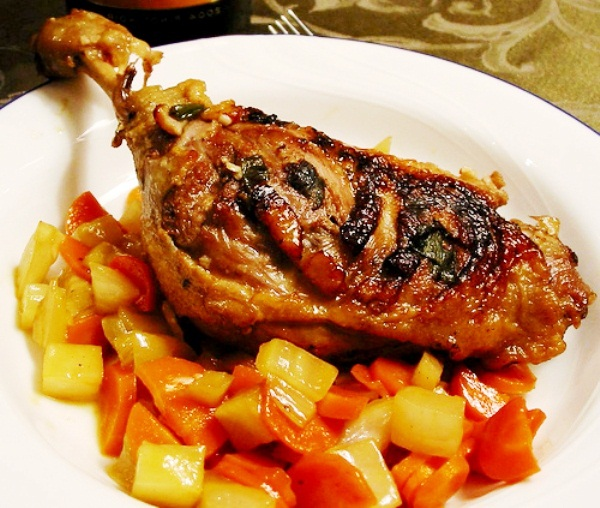 Мясо с горохом рецепт