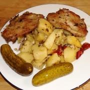 Картошка по селянски в духовке