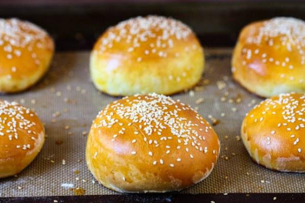 Выпекаем в духовке булочки для гамбургеров рецепт как в макдональдсе