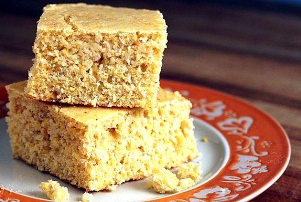 Кукурузный хлеб в духовке