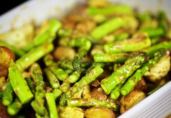 Запекаем овощи до готовности