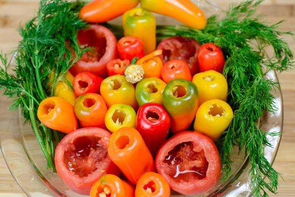 Болгарский перец - самые красивые и ароматные овощи