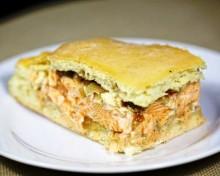 Рыбный пирог рецепт с лососем
