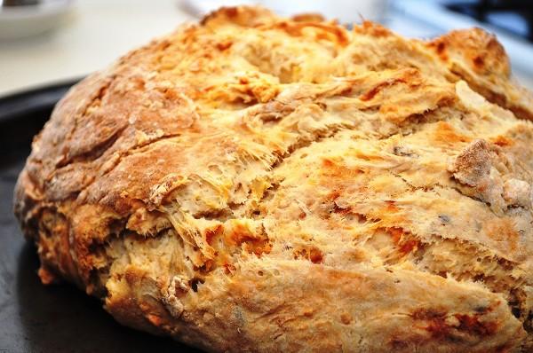 Выпекаем содовый хлеб в духовке
