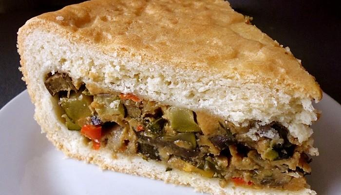 Овощной пирог рецепт с фото