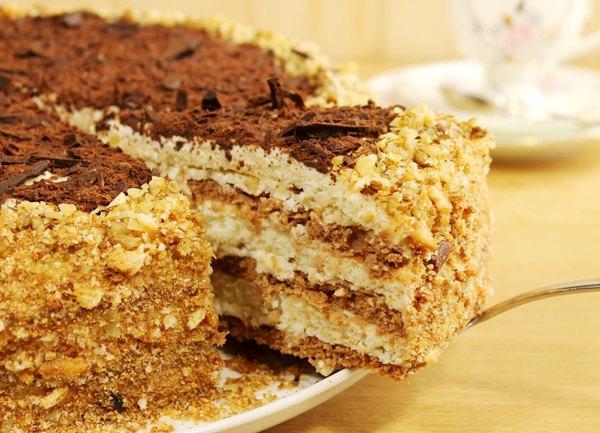 Мишка на севере торт рецепт с фото