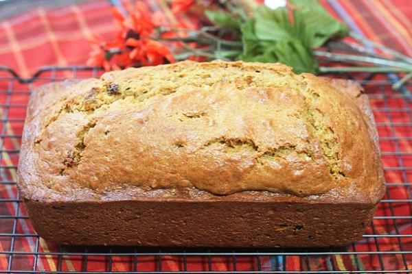 Выпекаем тыквенный хлеб в духовке
