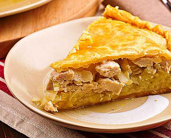 Курник пошаговый рецепт с фото - Кулинарния