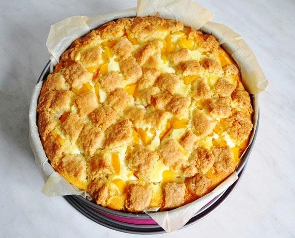 Песочно творожный пирог рецепт