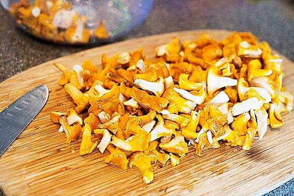 Картошка жареная с лисичками рецепт