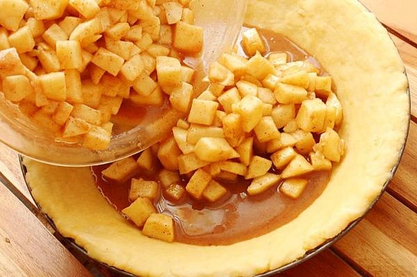 Пирог с яблоками рецепт в духовке