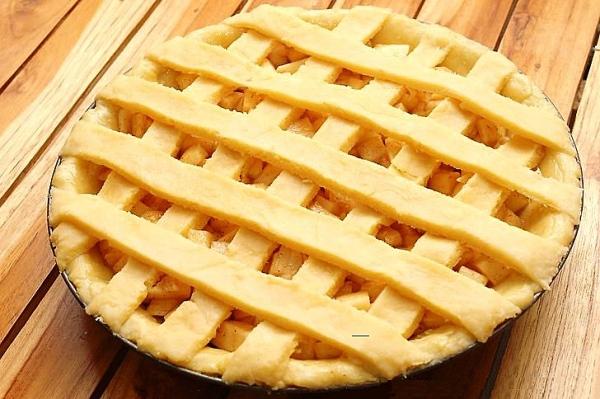 Самый простой рецепт пирога с яблоками