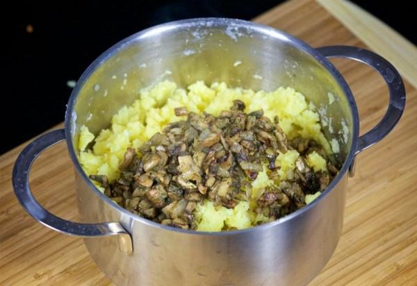 Начинка для пирожков картошка с грибами
