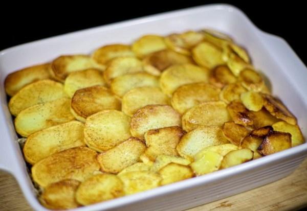 Еще один слой картошки
