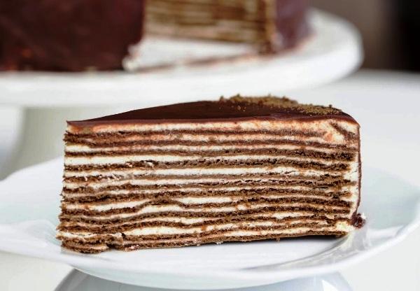 рецепт коржей для медово шоколадного торта