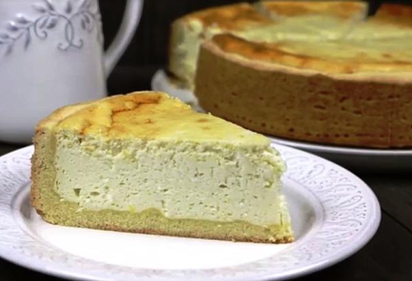 Пирог творожный в духовке рецепт с фото