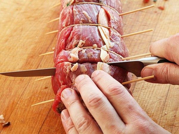 Рулет из мяса рецепт