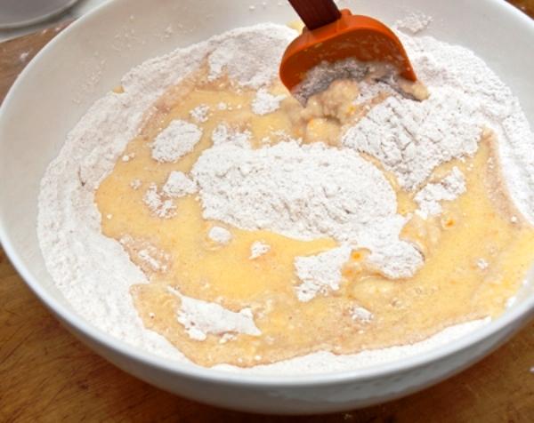 Кекс печем дома апельсиновый