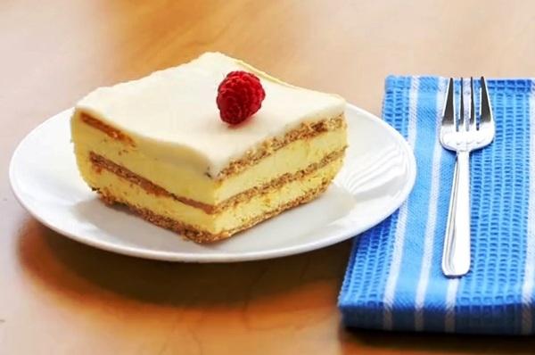 Лимонный пирог простой рецепт