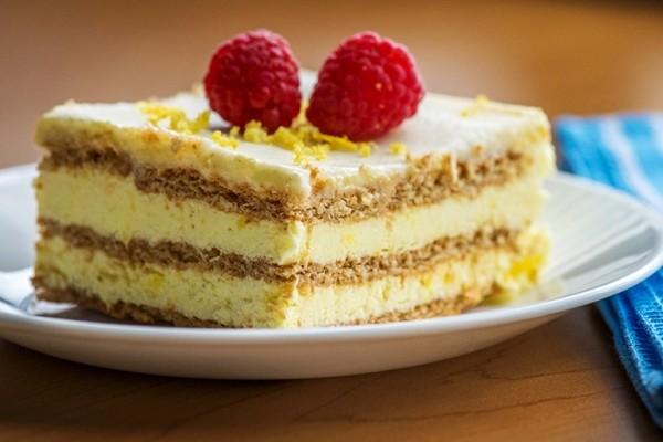 Лимонный пирог рецепт с фото пошагово