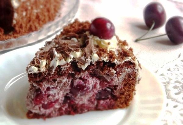 Пьяная вишня торт рецепт с фото пошагово