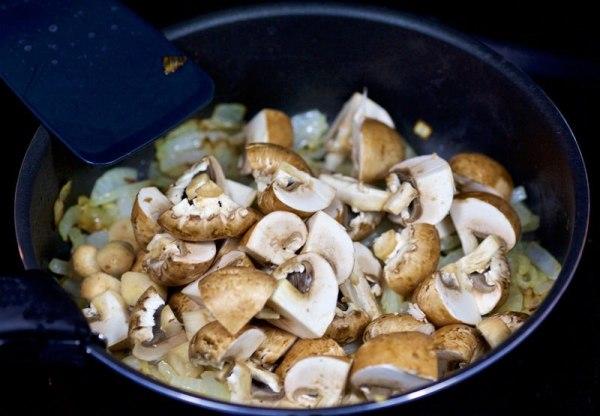 Блюда с грибами рецепты