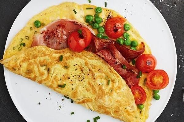 Омлет с помидорами рецепты