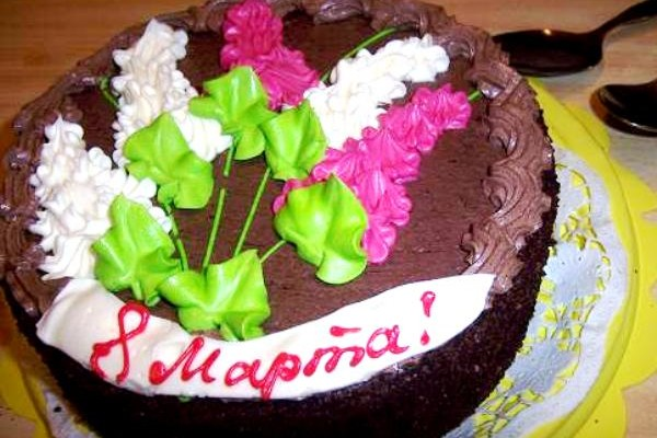 Торт на 8 марта своими руками рецепты
