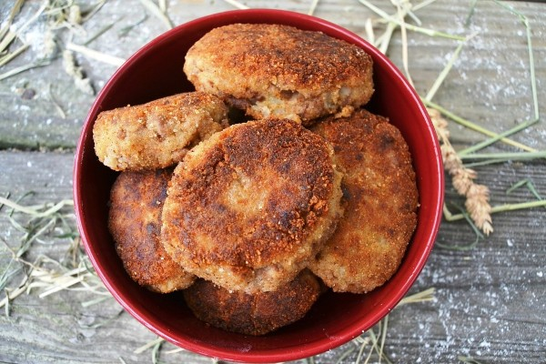 Котлеты из пюре картофельного с начинкой рецепт