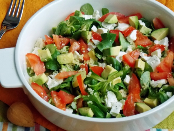 Салаты с авокадо рецепты