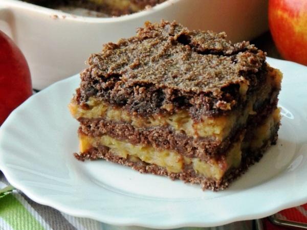 Пирог шоколадный с какао рецепт с фото